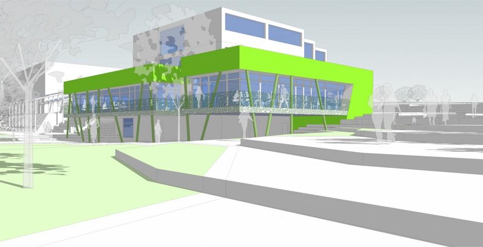 Extension de la cafétéria de l'IATA à Namur