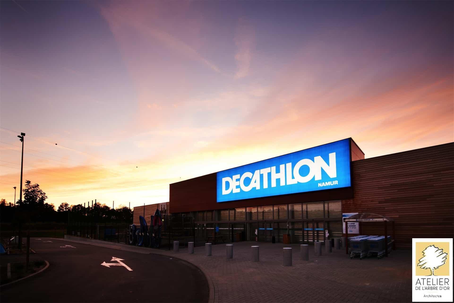 Arbre d'Or Espace de vente Decathlon à Namur - Arbre d'Or