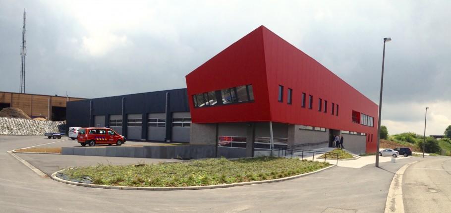 La caserne des pompiers de Ciney inaugurée !
