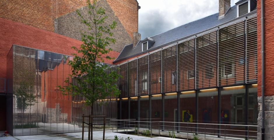 Rénovation de l'Académie des Beaux-arts de Namur