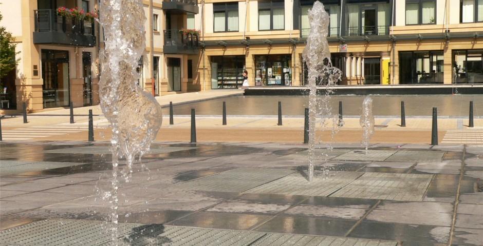 Espaces publics Espace Didier à Arlon