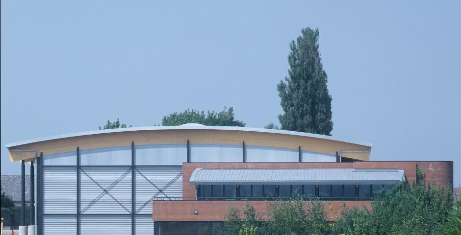 Hall des sports à Fernelmont
