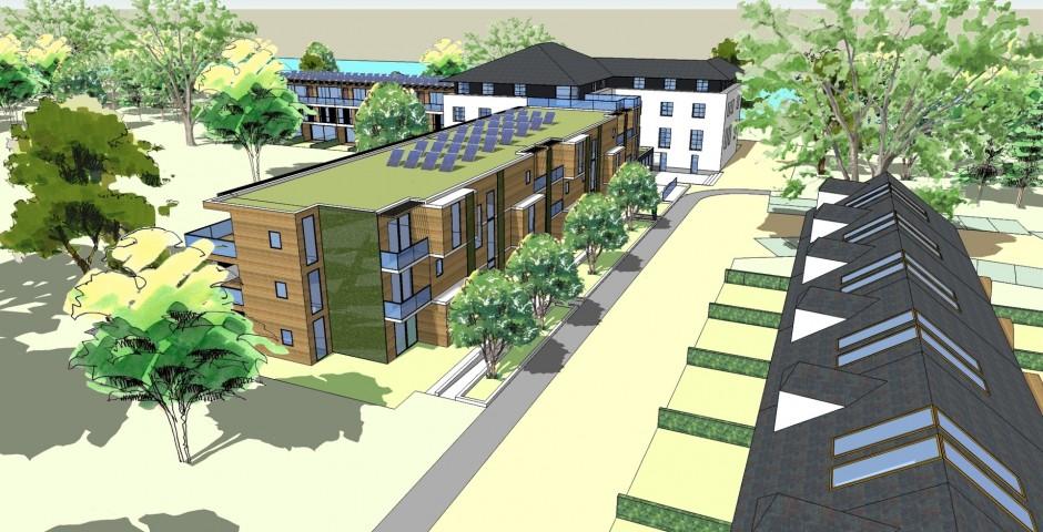 Eco-quartier résidentiel à Arlon