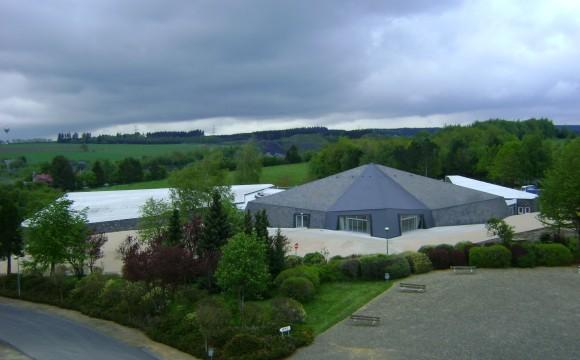 Réception du chantier des abords du musée à Bastogne