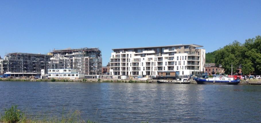 46 appartements réceptionnés au Port du Bon Dieu