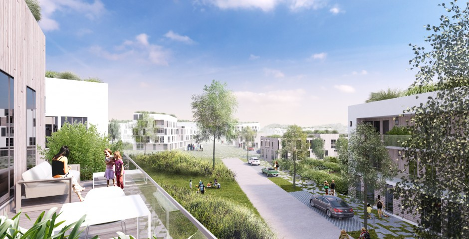 Eco-quartier à Hensies