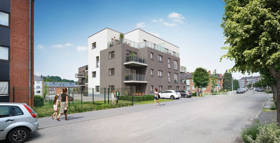 Immeuble à appartements à Salzinnes
