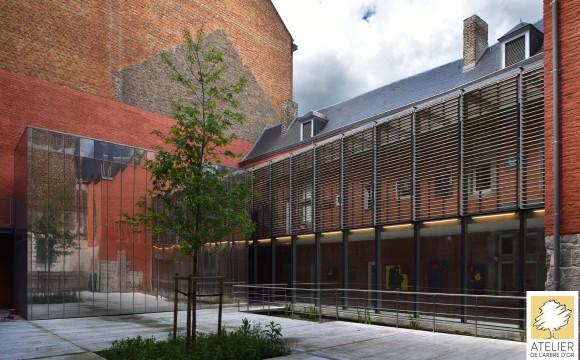 Inauguration de l'Académie des Beaux Arts de Namur