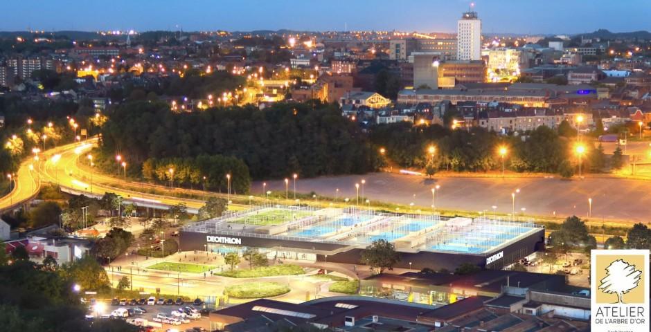 Le Décathlon de Charleroi